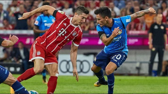 James no pudo evitar la derrota del Bayern ante el Leverkusen