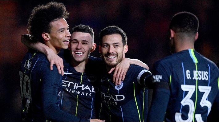 Manchester City golea a Newport y avanza en la FA Cup
