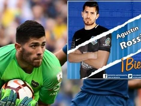Deportes Antofagasta oficializa a Agustín Rossi como su nuevo portero