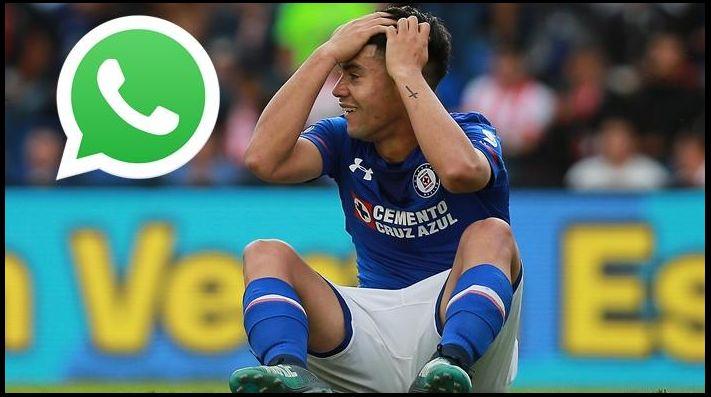 Cruz Azul despidió a Felipe Mora por WhatsApp