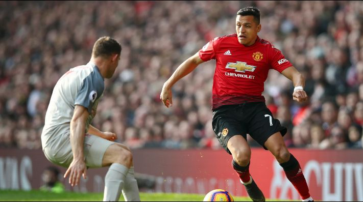 Manchester United con Alexis igualó sin goles ante Liverpool