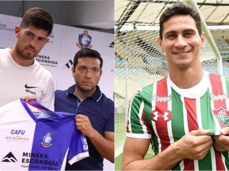 Retrasos dejan a Fluminense y Antofagasta sin sus figuras para el debut