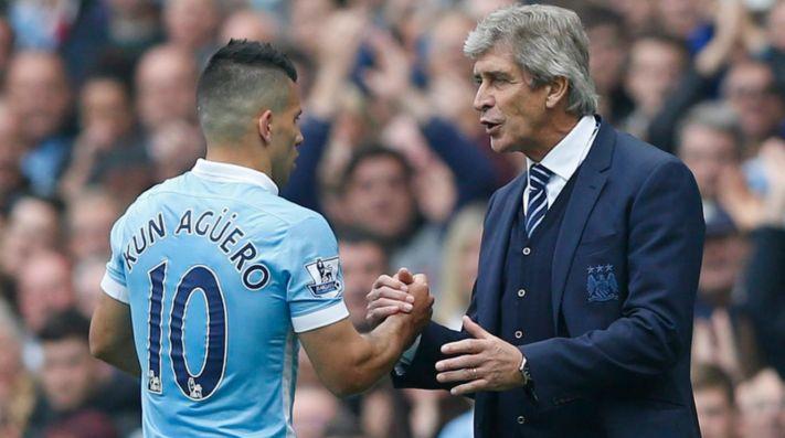Agüero le dio un triunfo vital a Manchester City