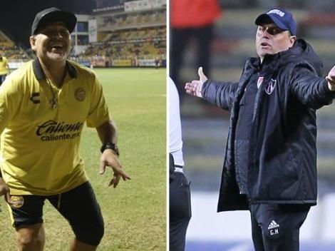 Diego Maradona elimina a Ángel Guillermo Hoyos de Copa MX