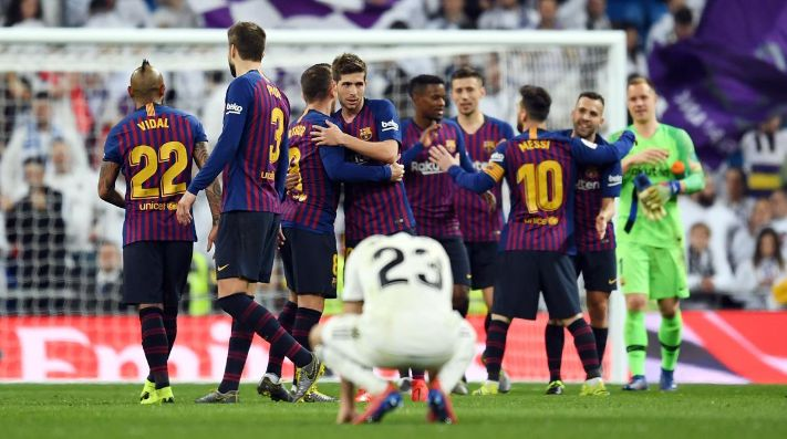 Barcelona goleó al Real Madrid y clasifica a la final.