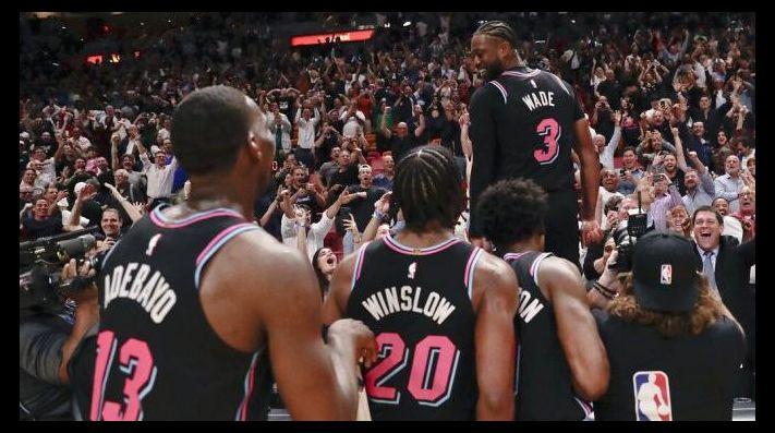 Milagroso triple de Wade dio sorpresivo triunfo al Heat sobre favoritos Warriors