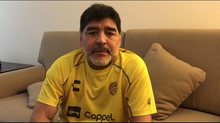 Maradona carga contra los argentinos que podrían jugar nacionalizados con México