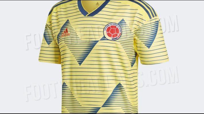 Nueva Camiseta De Colombia 2019 Detail: Conoce La Nueva Camiseta De Colombia Para Copa América