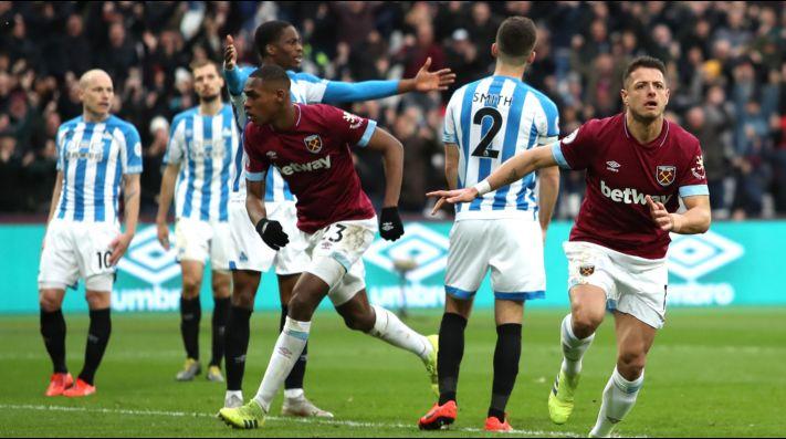 ¡'Chicharito' le dio el triunfo al West Ham sobre Huddersfield!