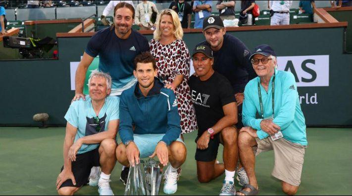 Thiem le gana la final de Indian Wells a Federer y Massú celebra su ... 561822f607c5f
