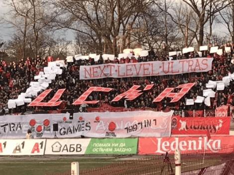 El ingenioso tifo de Tetris en el fútbol búlgaro