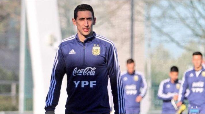 Di María, desafectado de la Selección por lesión