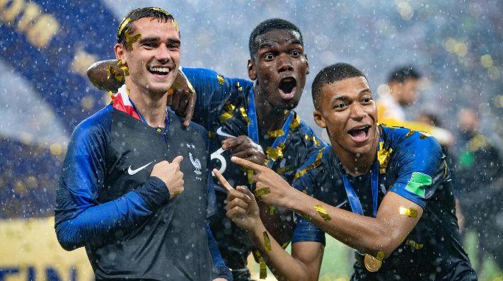 Griezmann es el deportista francés con más ingresos de dinero en 2018