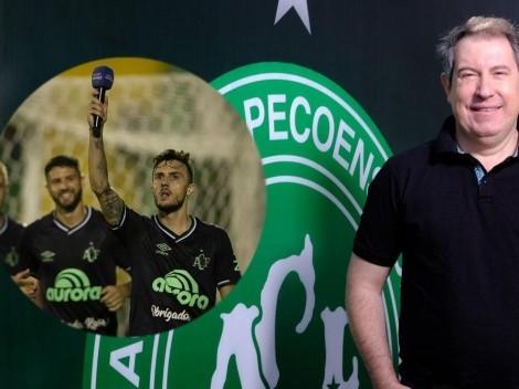Homenaje: Chapecoense le dedica un gol al fallecido Rafael Henzel