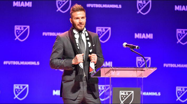 El Inter demanda a Beckham por su club en la MLS