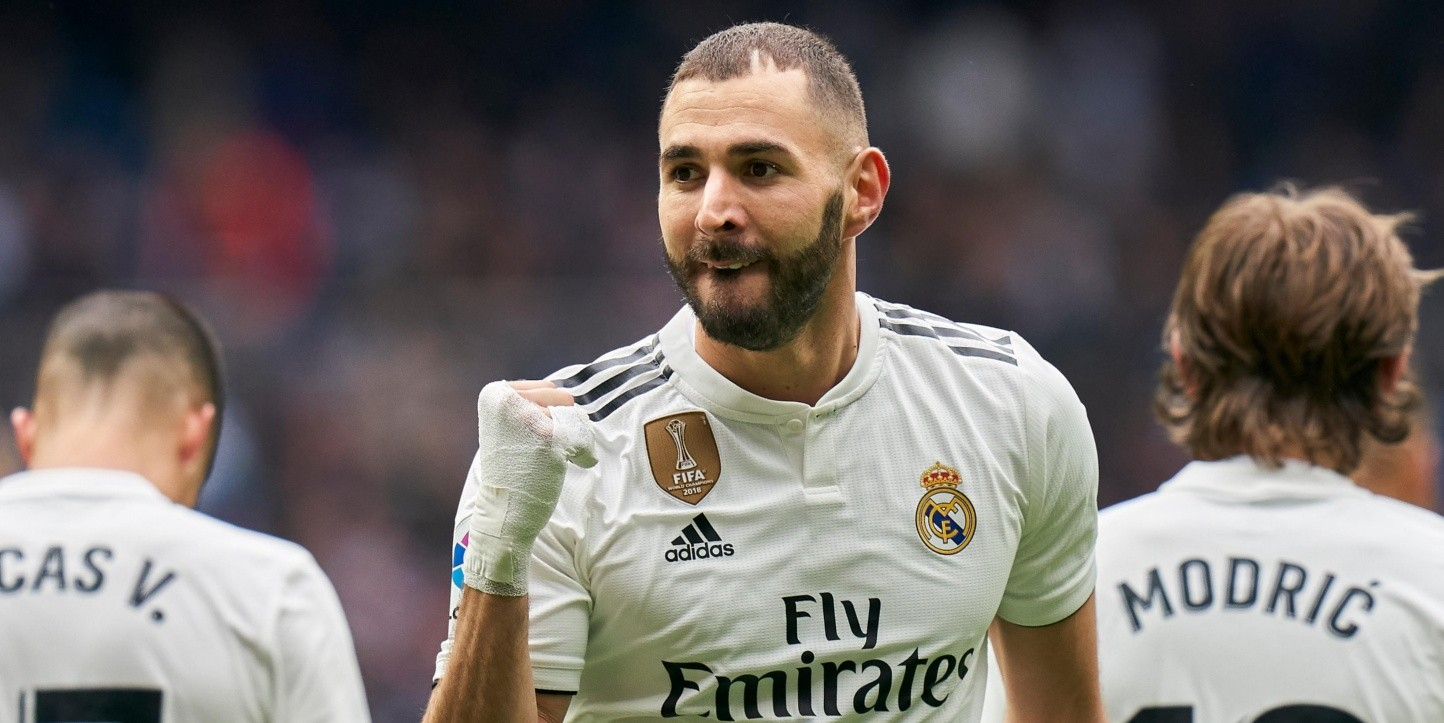 Real Madrid venció al Athletic con un hattrick de Benzema