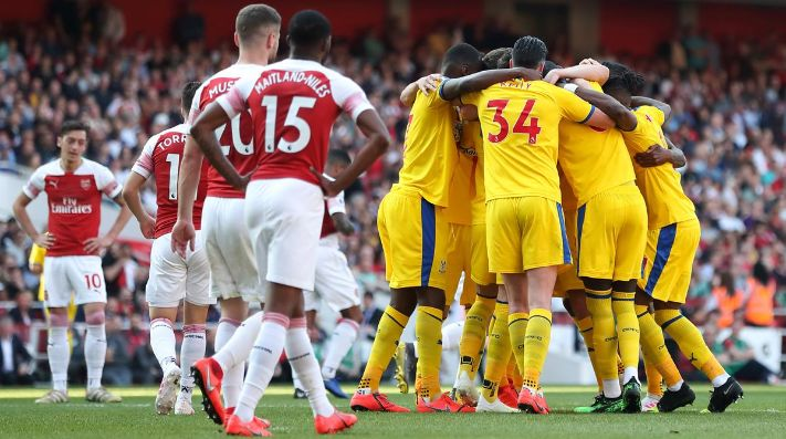 Crystal Palace sorprendió al Arsenal.