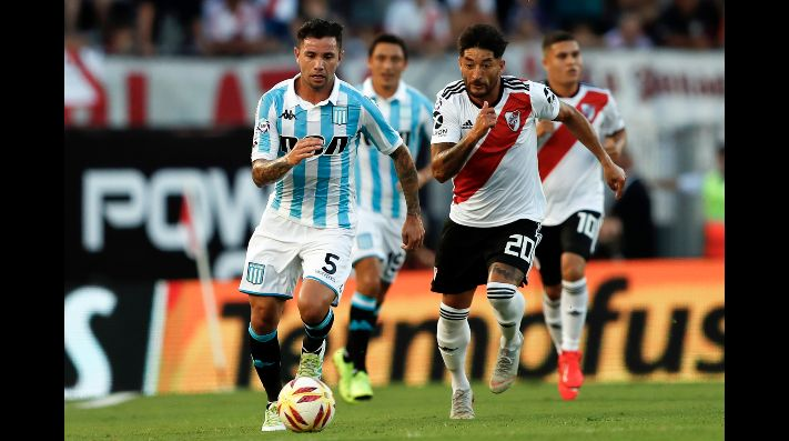 Superliga Argentina: River Plate vs Racing
