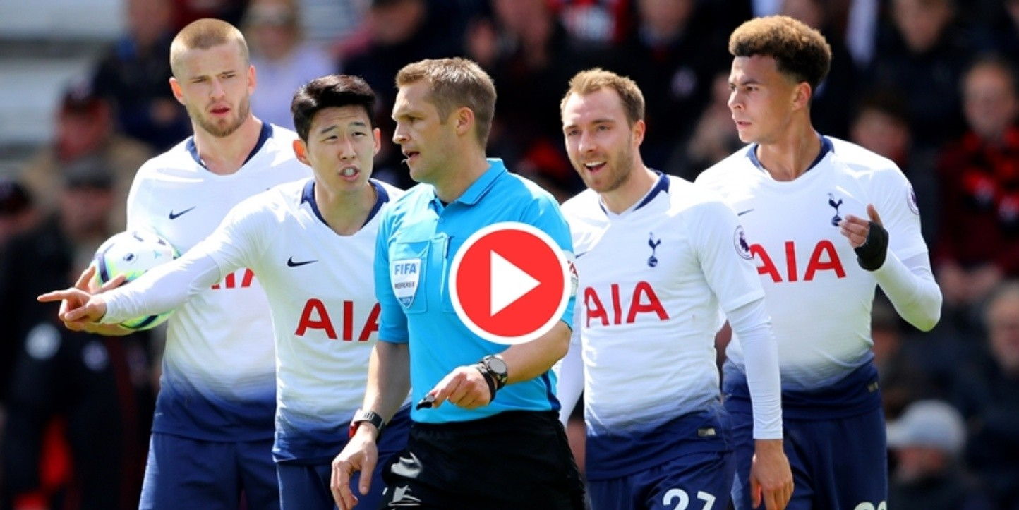 AFC Bournemouth v Tottenham Hotspur - Premier League - Not Released (NR) EDITORIAL USE ONLY. No use with unauthorized audio, video, data, fixture lists, club/league logos or