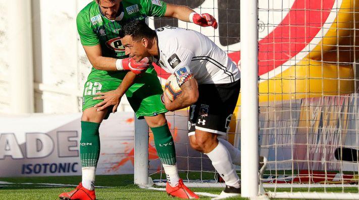 Formación de Colo Colo vs Palestino hoy en el Campeonato Nacional