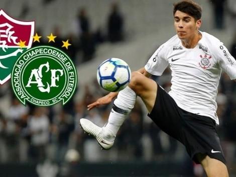 Fluminense y Chapecoense en la órbita de Ángelo Araos