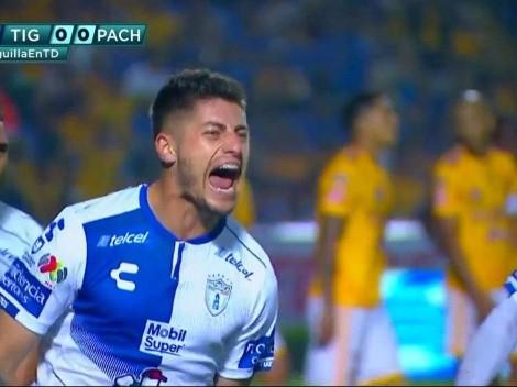 Ángelo Sagal mete un golazo de cabeza en eliminación de Pachuca