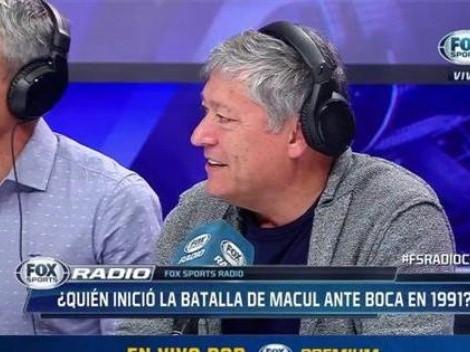Pato Yáñez y Barti desclasifican mocha entre Colo Colo y Boca del 91