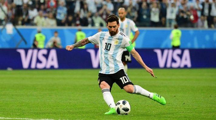 La Argentina comenzó los entrenamientos con once jugadores pero sin Messi