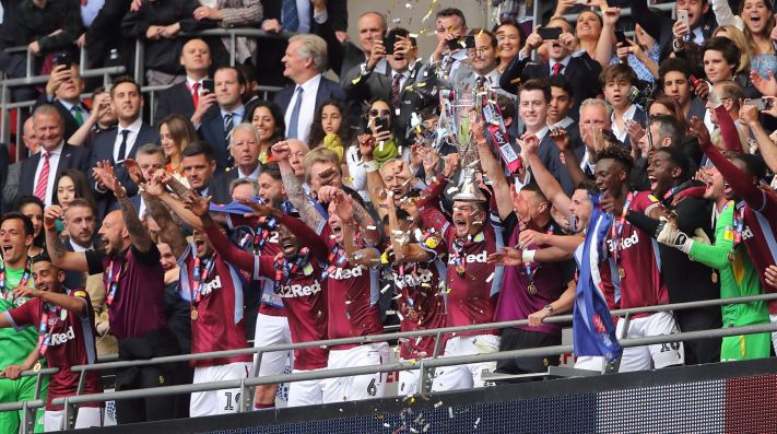 Aston Villa vs. Derby County - Reporte del Partido - 27 mayo, 2019