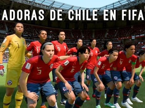 Conoce los nombres falsos de las jugadoras chilenas en FIFA 19