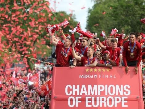 ¡Locura total! Masiva fiesta en Liverpool para celebrar el título de Champions League