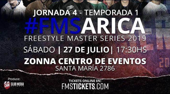 La cuarta fecha de la FMS Chile se realizará en Arica | RedGol