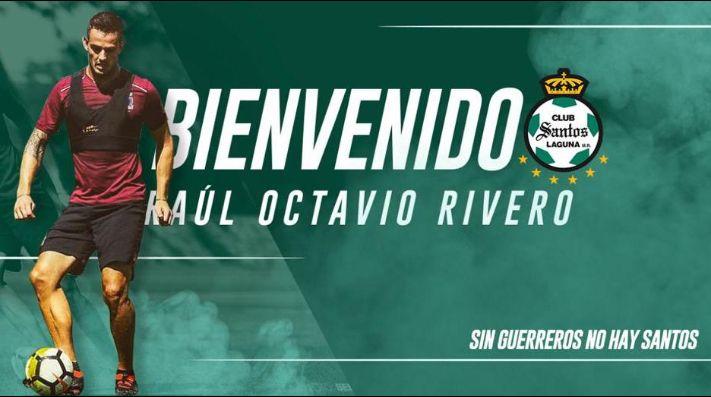 OFICIAL, Octavio Rivero es el primer refuerzo de Santos