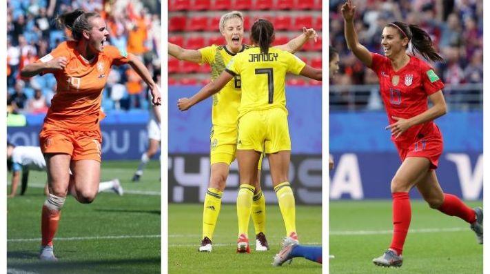 Holanda Suecia y Estados Unidos se hacen fuertes en el Mundial