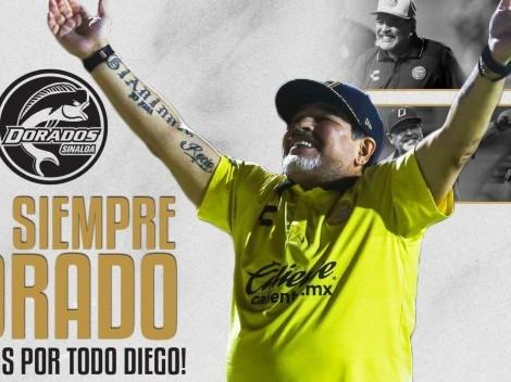 Diego Maradona deja de ser el DT del Dorados de Sinaloa