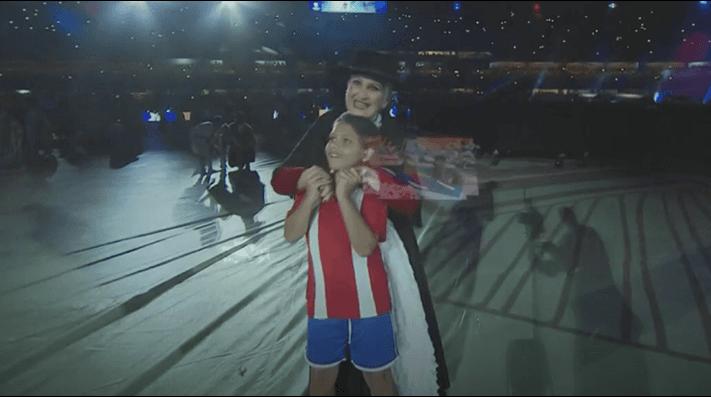 8eae41c8da85 Chile apareció con camiseta de Paraguay en inauguración Copa América
