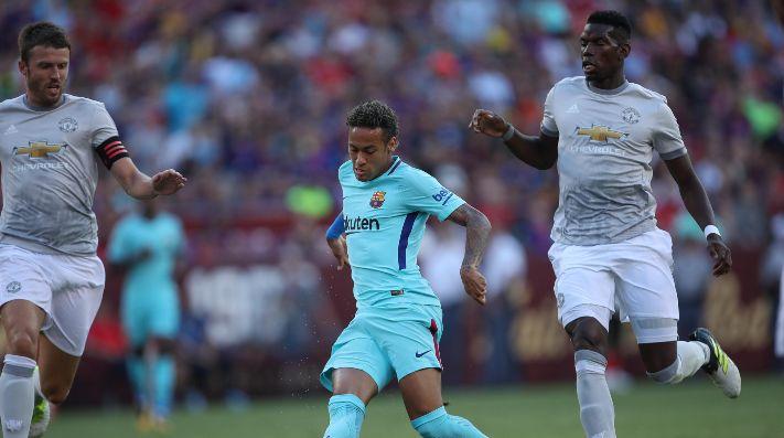 El Manchester United rechaza un cambio Pogba por Neymar
