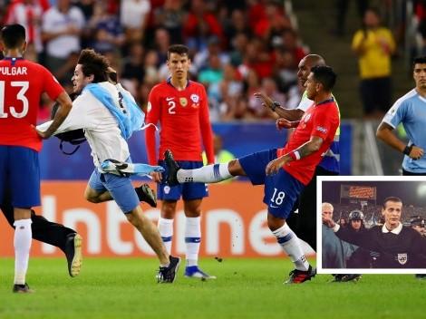 "Castrilli: ""Si a Suárez ese tarado le saca un cuchillo, no estaría reclamando contra Jara"""