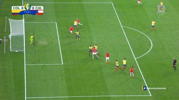 Segundo gol anulado a Chile
