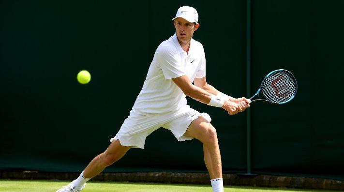 Otra vez a 'remar': Seppi arrasa en tercer set y aventaja a Jarry por Wimbledon