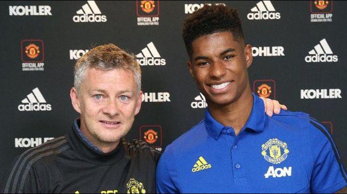 Rashford renueva con el Manchester United hasta 2023