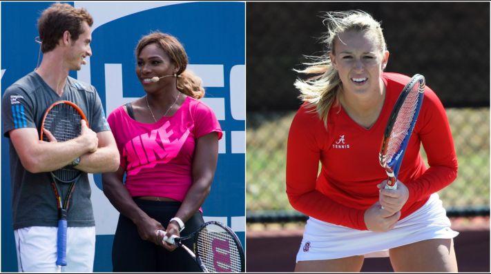 Serena y Murray fueron el foco en dobles mixto — MurRena cae
