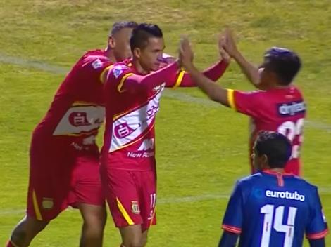 ¡Gol chileno en Perú!