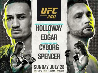 Dónde ver en señal HD el UFC 240 - Holloway vs Edgar: canal