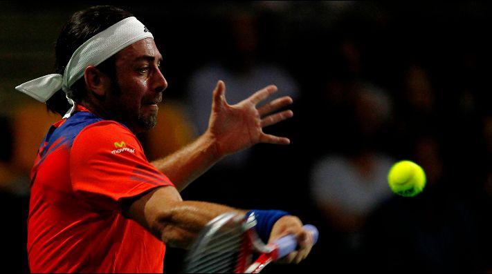 Nicolás Massú vuelve a jugar un torneo profesional del ATP