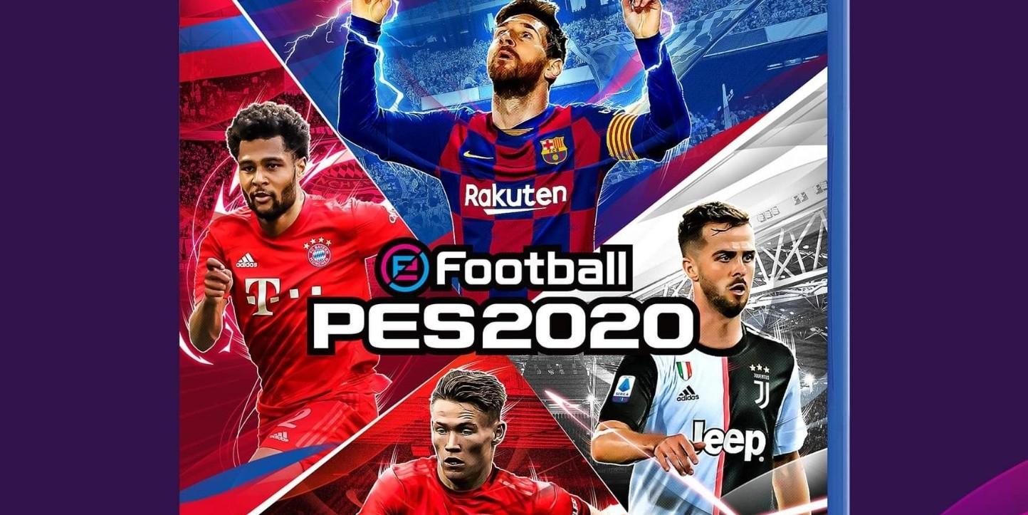 Konami revela la portada de PES 2020 con sus cuatro