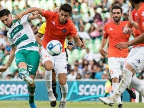 ¡Gol! Diego Valdés salva de la derrota al Santos Laguna