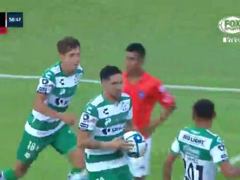 Golazo de Diego Valdés en la Copa MX