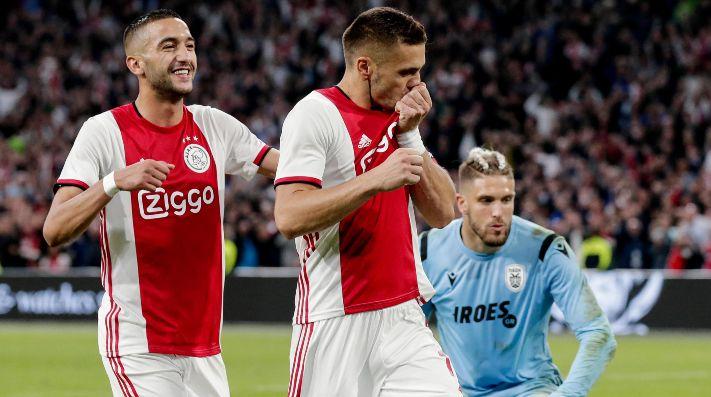 Creo que Van de Beek se quedará en Ajax — Overmars