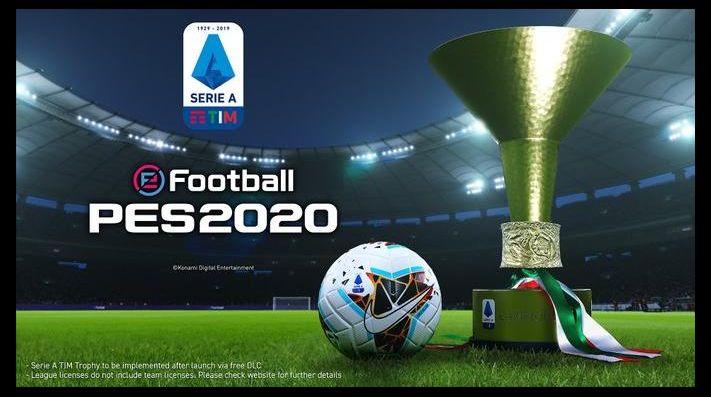 PES 2020 cuenta con la Serie A completamente licenciada